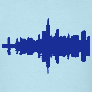 Chicago skyline T-Shirts - Men's T-Shirt