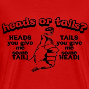 Heads or tails T-Shirts - Men's Premium T-Shirt