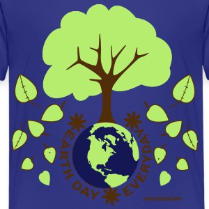 Earth Day Everyday - Kids' Premium T-Shirt