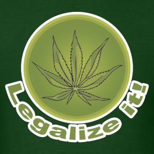 Legalize It T-Shirt - Men's T-Shirt