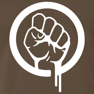 Clenched Fist - Mens - Men's Premium T-Shirt