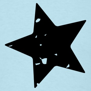 Battered Star - Mens - Men's T-Shirt