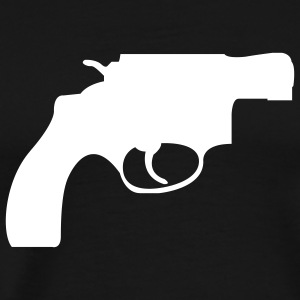 Snub Nose Revolver - Mens - Men's Premium T-Shirt