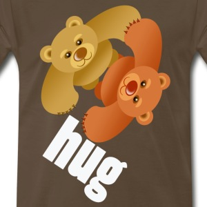 BEARHUG T-Shirts - Men's Premium T-Shirt