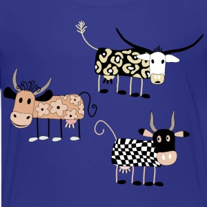 Cow Art Design - Kids' Premium T-Shirt