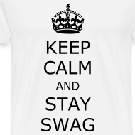 Design ~ Keep calm and stay swag t-shirt
