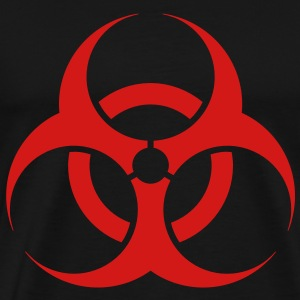 Biohazard - Brack & Red - Men's Premium T-Shirt