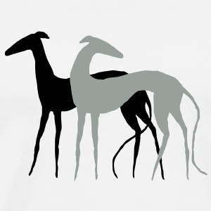 two Galgos T-Shirts - Men's Premium T-Shirt