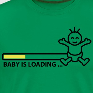 baby_is_loading_text_version_2c T-Shirts - Men's Premium T-Shirt