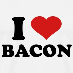 I Love Bacon - Men's Premium T-Shirt