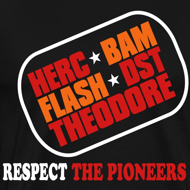 Respect the Pioneers T Shirt