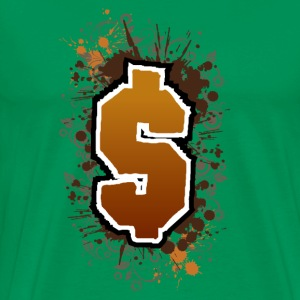 Dollar sign T-shirt - Men's Premium T-Shirt