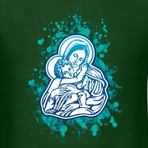 Mary and Jesus T-Shirts - Men's T-Shirt