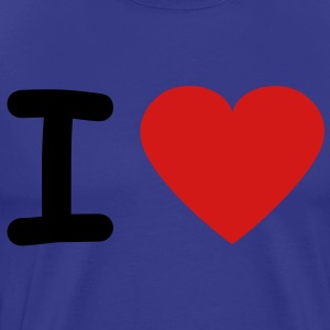 i_love_2c T-Shirts - Men's Premium T-Shirt