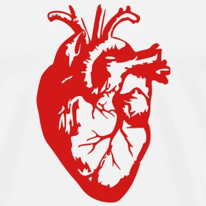 Heart Realistic / Art T-Shirts - Men's Premium T-Shirt