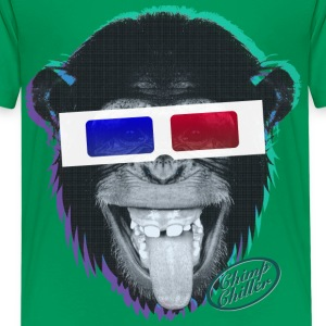 Chimp Chiller - 3D Kids' Shirts - Kids' Premium T-Shirt