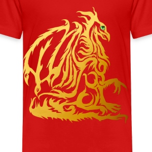 Golden Dragon  - Toddler Premium T-Shirt