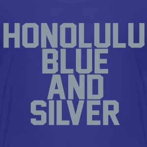 Honolulu Blue & Silver Kids' Shirts - Kids' Premium T-Shirt