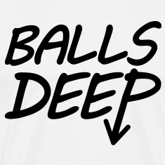 Balls Deep (Black) - Men's