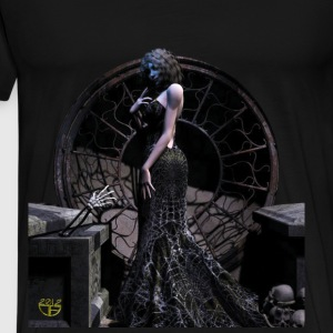Crypt Girl 1 - Men's Premium T-Shirt