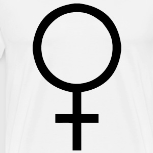 Female Symbol T-Shirts - Men's Premium T-Shirt