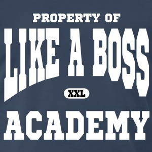 Property of Like A Boss Academy T-Shirts - Men's Premium T-Shirt