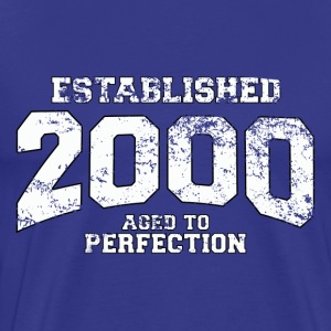established_2000 T-Shirts - Men's Premium T-Shirt