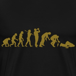 The Evolution Of Drunk Man - Men's Premium T-Shirt