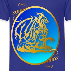 Gold Dragon 3 - Toddler Premium T-Shirt