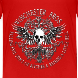 Winchester Bros Ring Patch 2 silver Toddler Shirts - Toddler Premium T-Shirt