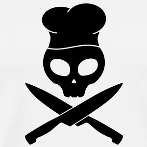 kitchen skull pirate T-Shirts - Men's Premium T-Shirt