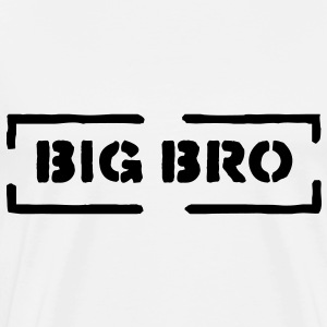 big bro T-Shirts - Men's Premium T-Shirt