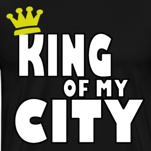 king of my city T-Shirts - Men's Premium T-Shirt