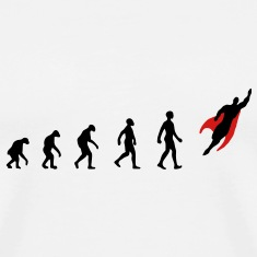 Evolution, Hero, Darwin,  T-Shirts