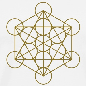 merkaba - flower of life T-Shirts - Men's Premium T-Shirt
