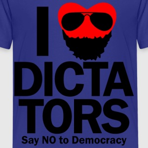 I HEART DICTATORS Kids' Shirts - Kids' Premium T-Shirt