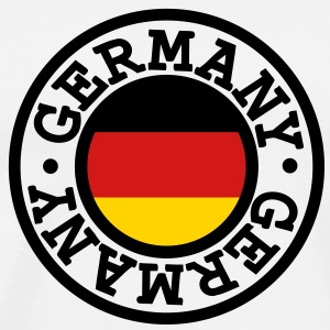 Germany flag T-Shirts - Men's Premium T-Shirt