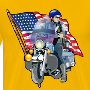 Officer - Men's Premium T-Shirt