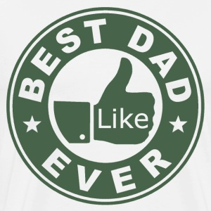 Best Dad Ever Thumbs Up - Men's Premium T-Shirt