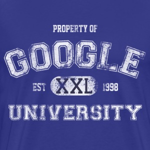 Property of Google University - Men's Premium T-Shirt