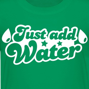 JUST ADD WATER with droplets and stars Kids' Shirts - Kids' Premium T-Shirt