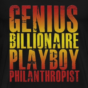Genius Billionaire Playboy Philanthropist T-Shirts - Men's Premium T-Shirt