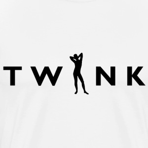 TWNK - Logo Black, Heavyweight T-Shirt - Men's Premium T-Shirt