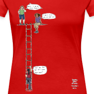 Design ~ Overhanging Cliff T-Shirt - Plus Size