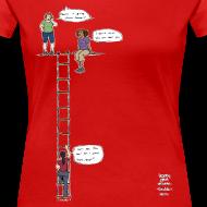 Design ~ Overhanging Cliff T-Shirt - Plus Size