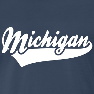 Michigan Men's T-Shirt WN - Men's Premium T-Shirt