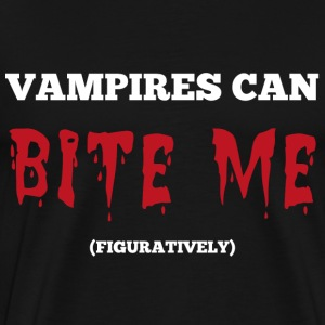 Vampires Bite Me - Men's Premium T-Shirt