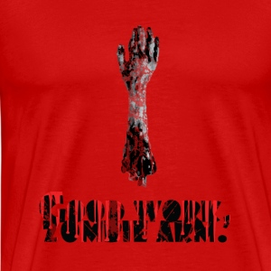 Good Work, Zombie Arm - | Robot Plunger - Men's Premium T-Shirt