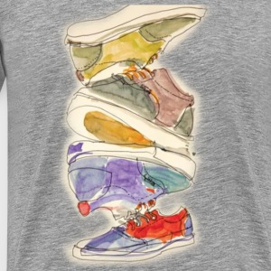 Shoes - Men's Premium T-Shirt