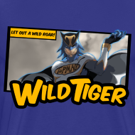Design ~ Tiger & Bunny - Wild Tiger Panel Tee